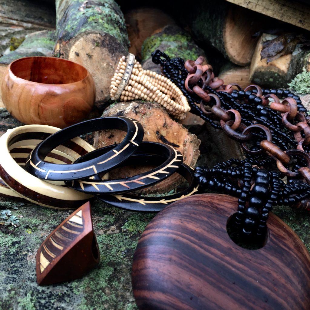 natural wood jewellery
