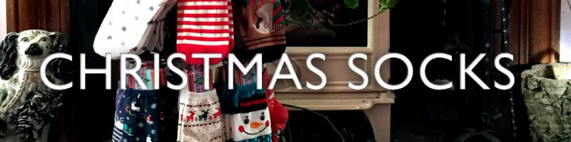 Christmas socks - Seasonal socks with a difference