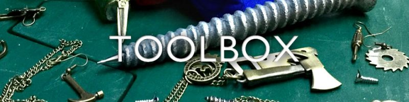 Toolbox fashion jewellery - tool up with new wholesale lines