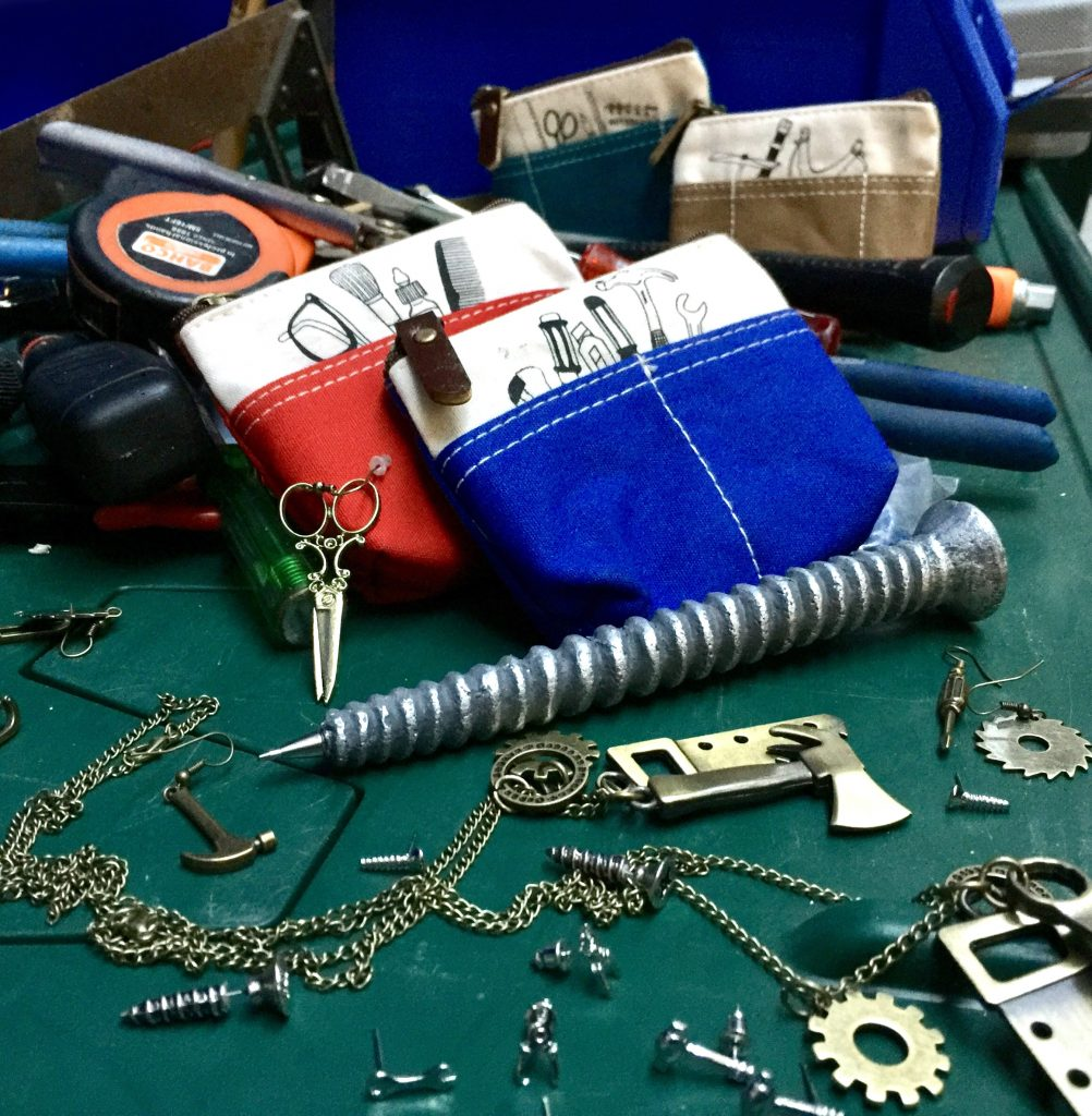 tool-kit fashion jewellery