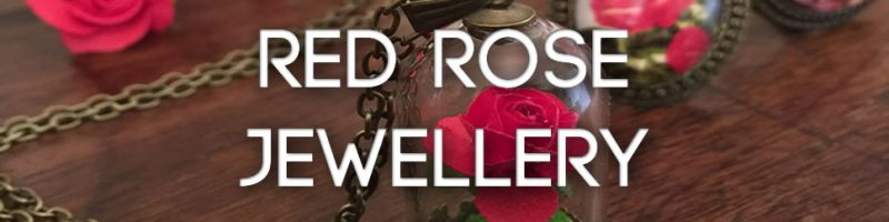 Red rose jewellery - so you can live happily ever after