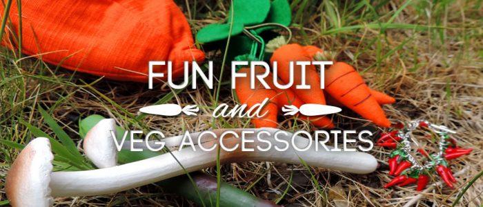 Spring Harvest - fun fruit & veg jewellery and accessories