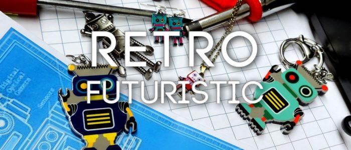 Back to the Future! Retro-futuristic robot jewellery and accessories