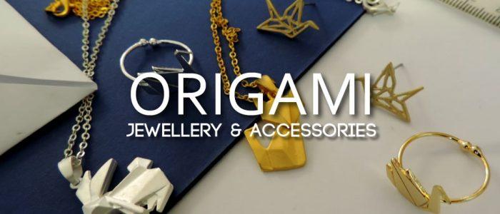 Outstanding Origami - fun fashion jewellery