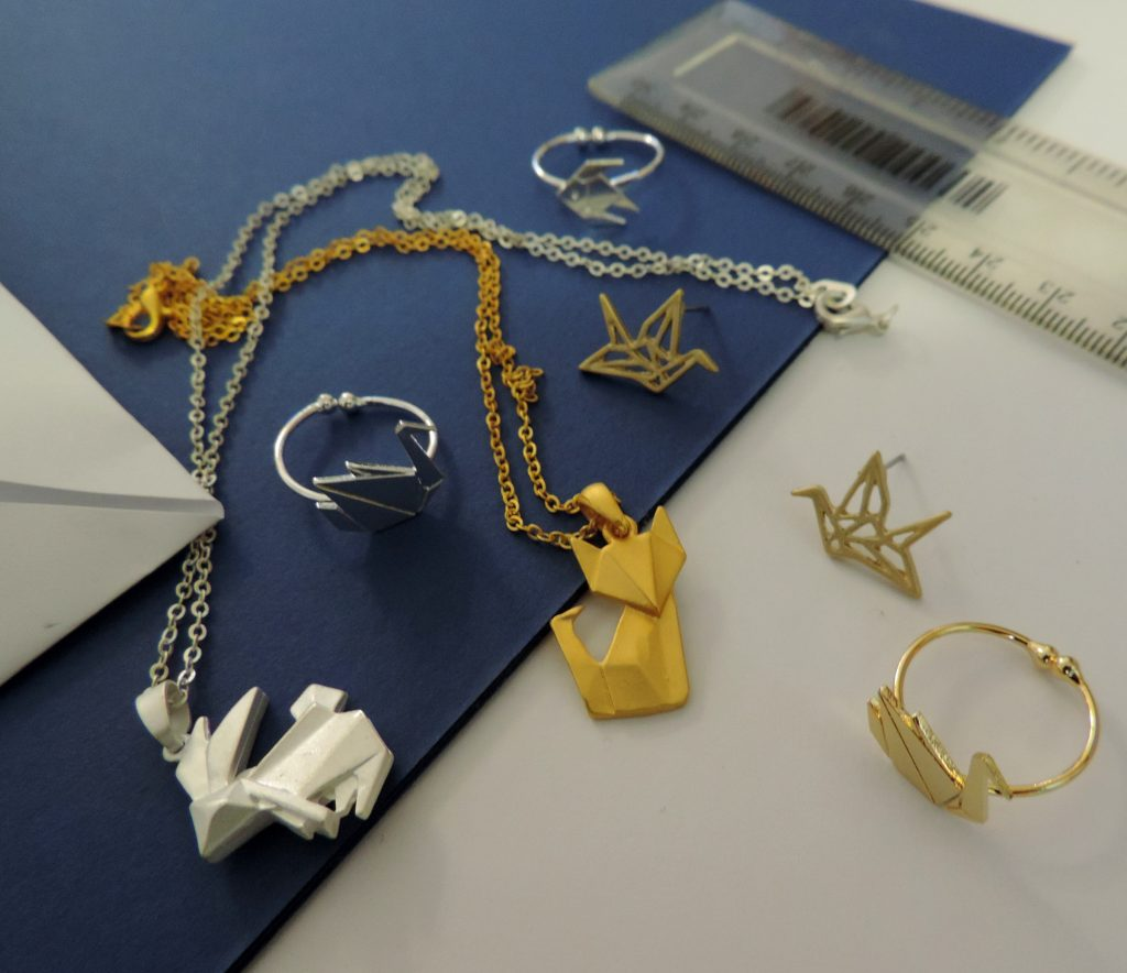 outstanding origami fun fashion jewellery joe cool