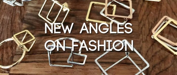 New angles on fashion jewellery - 2 cubed 4 u squared