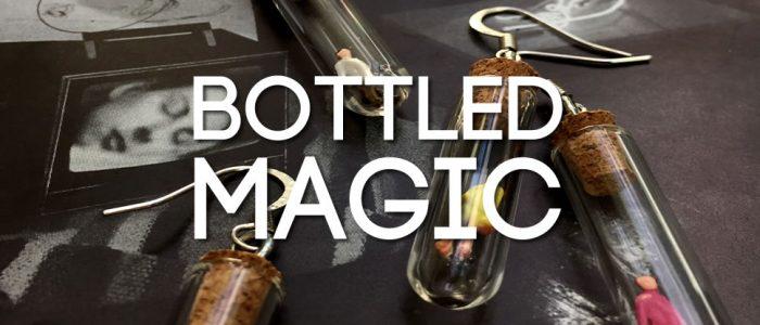 Bottled magic jewellery - strange sights and sparkling stardust