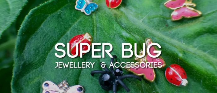 Super bug jewellery - ladybirds, dragonflies, spiders and more
