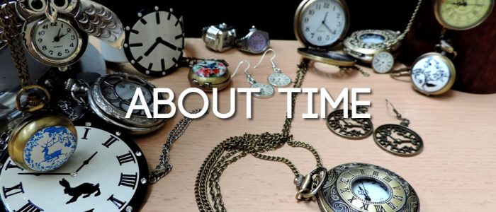 About Time - clock and watch jewellery & accessories