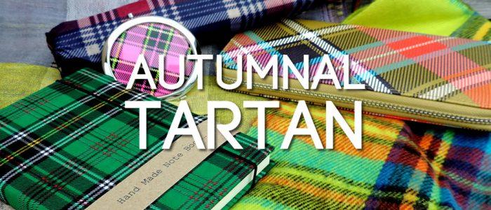 Autumnal Tartan jewellery and accessories