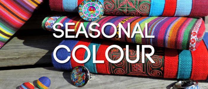 Seasonal Colour - jewellery, accessories and Fall fashion