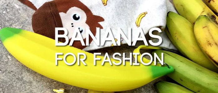 Bananas for fashion! Fruity jewellery and accessories