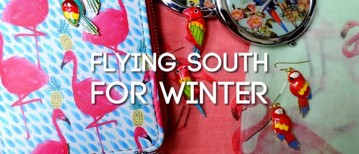 Flying South For Winter - exotic bird jewellery & accessories!