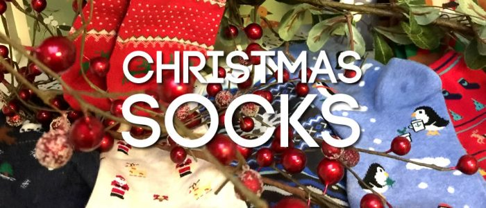 Christmas socks - Joe Cool simply have the best