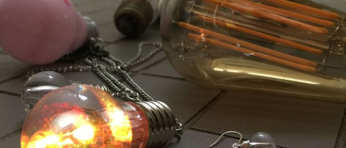 Bright ideas! - Joe Cool light bulb jewellery