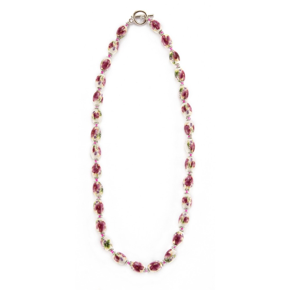 Wholesale Shop For Bead String Necklace Country Garden