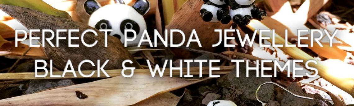 Perfect Panda jewellery – black & white themes