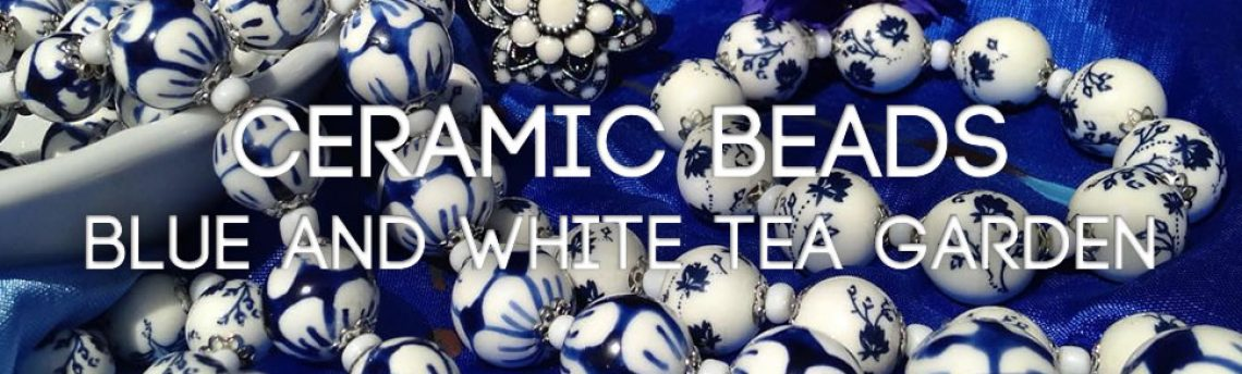 Blue and white accessories and jewellery
