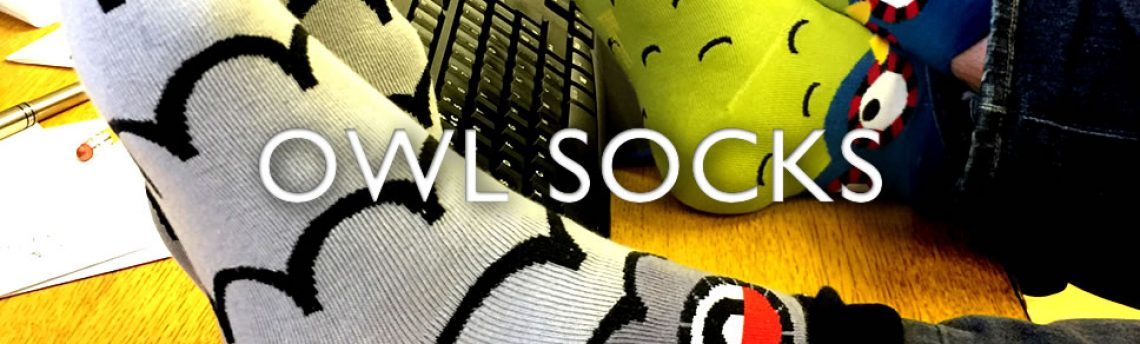 Owl socks – wise up to our new cool socks