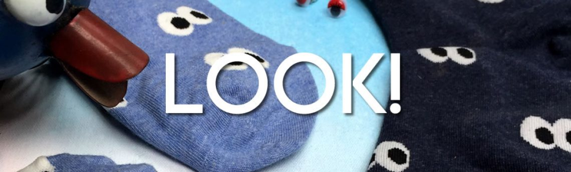 New socks – look! lots of fun and fabulous footwear.