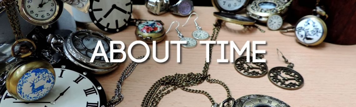 About Time – clock and watch jewellery & accessories