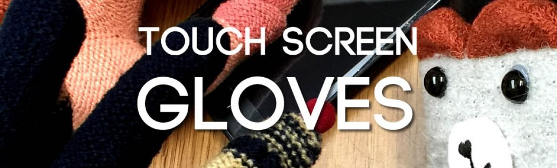 Get your hands on some touch screen gloves
