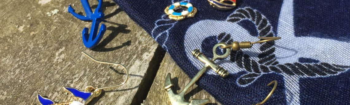 Nautical accessories – anchor up and sail away