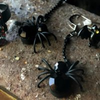 Halloween jewellery - spookily glamorous accessories