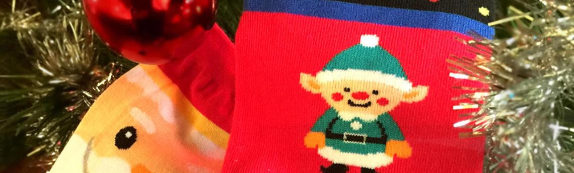 Christmas socks – all the magic of the festive season