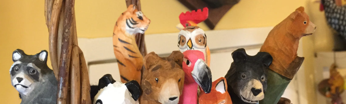 Animal magic – go wild with our hand-carved animal pens