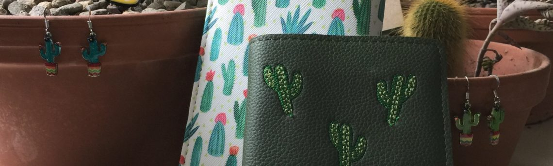 Cacti cool – cactus jewellery and accessories