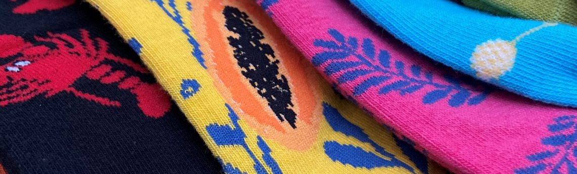 Bright New Socks – step into a New Year and a New Decade