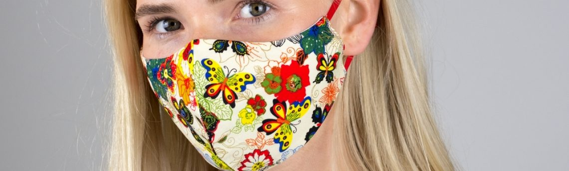 New mask designs are in stock now to brighten the darkening days.